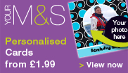 Go to M&S Personalised cards